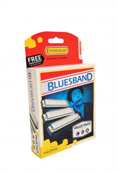 Hohner Blues Band CGA (M559XP) - набор из 3 гармошек - фото 11636