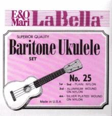 La Bella 25-BARITONE для укулеле баритон - фото 11641