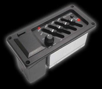 EQ-A7545R Звукосниматель с 4-х полосным эквалайзером, Alice - фото 11645