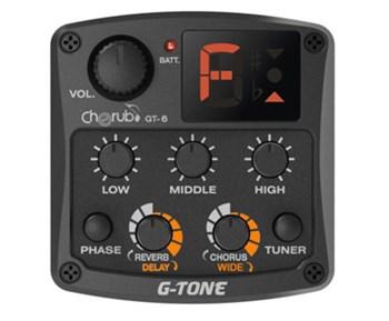 Cherub GT-6 Гитарный эквалайзер цифровой  с тюнером и эффектами - фото 11894
