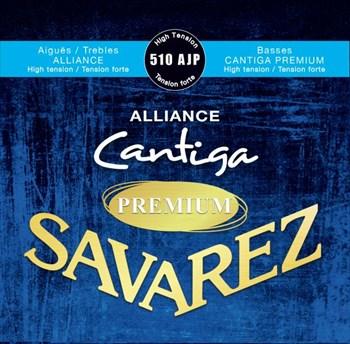 510AJP Alliance Cantiga Premium сильное натяжение, Savarez - фото 12075