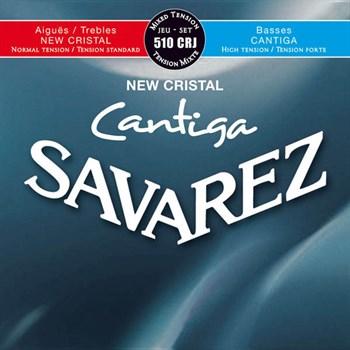 510CRJ New Cristal Cantiga  смешанное нат. Savarez - фото 12076
