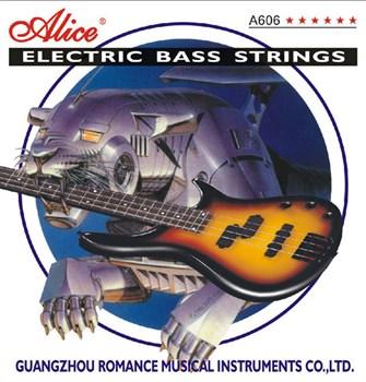 A606(4)-M струны для 4-струнной бас-гитары 045-105 - фото 12113