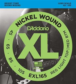 D`Addario EXL165  Струны для бас-гитары  45-105 - фото 12115