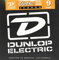 Dunlop DEN0942, никелированные, Light, 9-42 - фото 12547