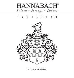 Hannabach EXCLMT среднее натяжение - фото 12886