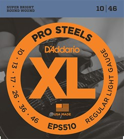D`Addario XL PRO STEEL EPS510 10-46