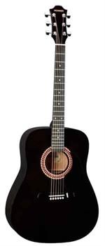 HOHNER HW220TBK черная гитара дредноут