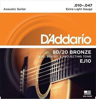 D`Addario EJ10 Extra Light 10-47