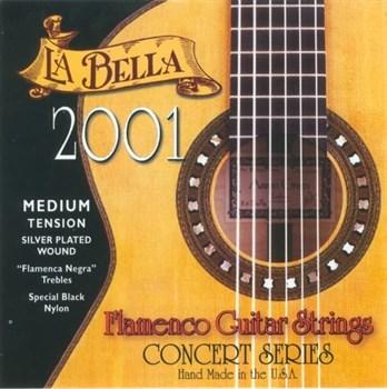 2001FM 2001 Flamenco Medium Tension. Струны для классической гитары La Bella