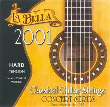 2001H Hard Tension. Струны для классической гитары La Bella