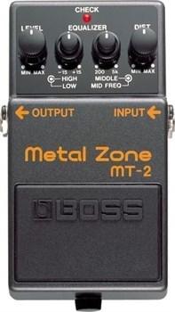 Педаль BOSS MT-2 Metal Zone для электрогитары