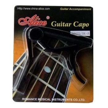 A007D/BK-A Каподастр для гитары Alice