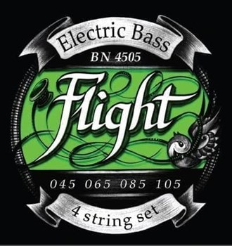 FLIGHT BN4505 струны для 4х стр. бас-гитары, 45-105, Medium