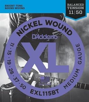 EXL115BT NICKEL WOUND, 11-50 D`Addario