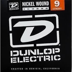 DEN0946 никелированные, Light/Heavy, Dunlop
