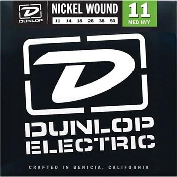 DEN1150 Комплект струн для электрогитары, никелированные, Medium Heavy, 11-50, Dunlop