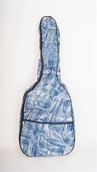 ЛЧГ12д2 Чехол для дредноут гитары, джинсовый - фото 7199