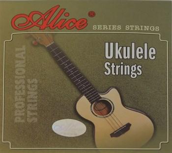 AU04 Комплект струн для укулеле Alice