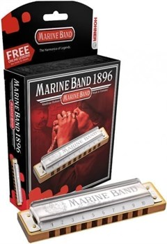 HOHNER Marine Band 1896/20 A губная гармошка Richter Classic