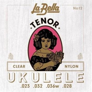 LA BELLA Ukulele 12 - струны для укулеле тенор