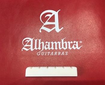 9.657 Порожек верхний для классической гитары, кость, Alhambra - фото 8991