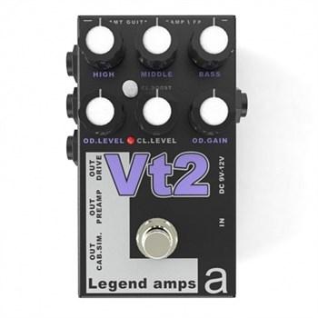 VT-2 LEGEND AMPS 2 ДВУХКАНАЛЬНЫЙ ГИТАРНЫЙ ПРЕДУСИЛИТЕЛЬ VT2 (VHT), AMT ELECTRONICS