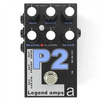 P-2 LEGEND AMPS 2 ДВУХКАНАЛЬНЫЙ ГИТАРНЫЙ ПРЕДУСИЛИТЕЛЬ P2 (PV-5150), AMT ELECTRONICS