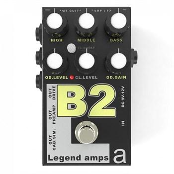 B-2 Legend Amps 2 Двухканальный предусилитель B2 (BG-Sharp) - фото 9117