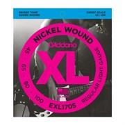 EXL170S Nickel Wound Комплект струн для бас-гитары, Light, 45-100
