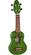 K1-GR  Укулеле сопранино зеленый  Ortega