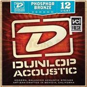 Dunlop DAP1254 струны для акустической гитары, фосф.бронза, Light, 12-54