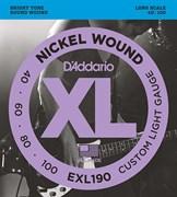 D`Addario EXL190  Струны для бас-гитары  40-100