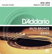 D`Addario EZ920 .012 - .054