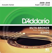 D`Addario EZ890 .009 - .045