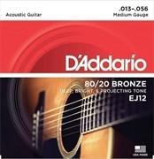 D`Addario EJ12 BRONZE 80/20, 13-56