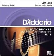 D`Addario EJ13 Custom Light 11-52