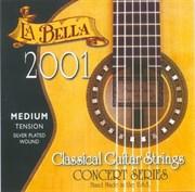 2001M Medium Tension Комплект струн для классической гитары La Bella