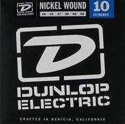 DEN1052 никелированные, Light/Heavy, 10-52, Dunlop
