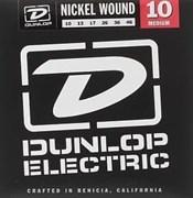 DEN1046 никелированные, Medium, 10-46, Dunlop