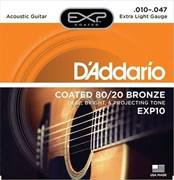 D`Addario EXP10 COATED 80/20