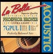 7GPUL Phosphor Bronze, 9-48, La Bella