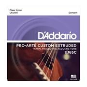 EJ65C струны для концертного укулеле D'Addario